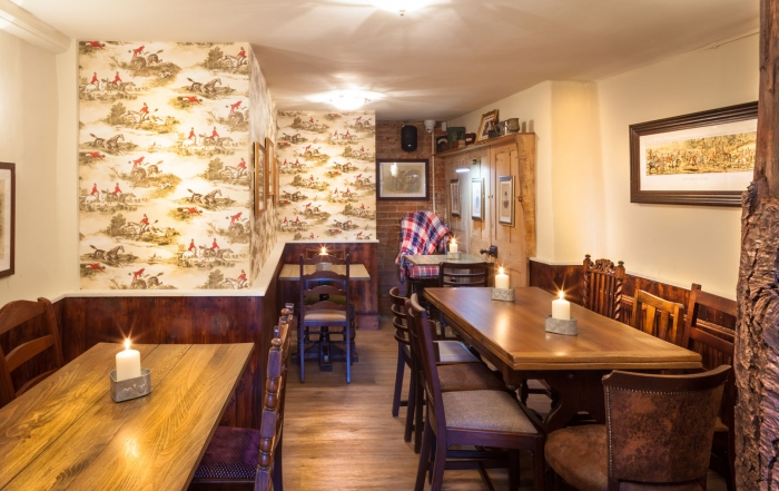 Royal Oak - Snug (tables not laid) 2